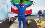 ۳ طلای وزنهبرداری ۱۰۲ کیلوگرم آسیا برای ایران |  رسول معتمدی قهرمان شد