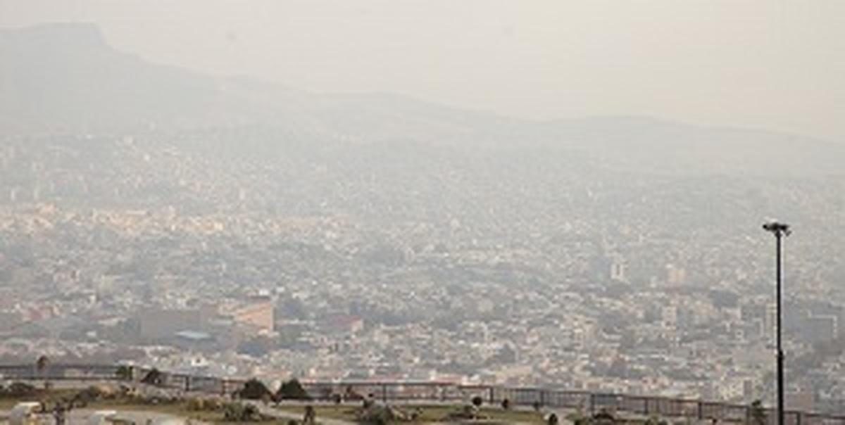 هشدار آلودگی هوا برای همه گروههای سنی در کلانشهرها