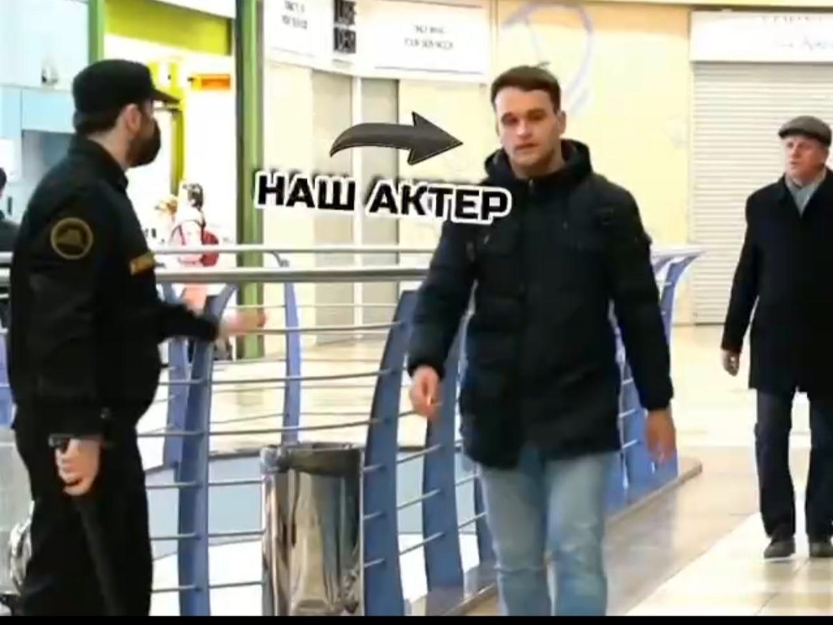 دوربین مخفی برای زدن ماسک در مسکو + ویدئو