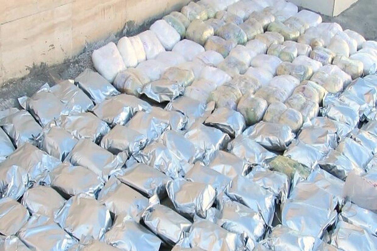 محموله سنگین مواد مخدر در گلستان کشف و ضبط شد