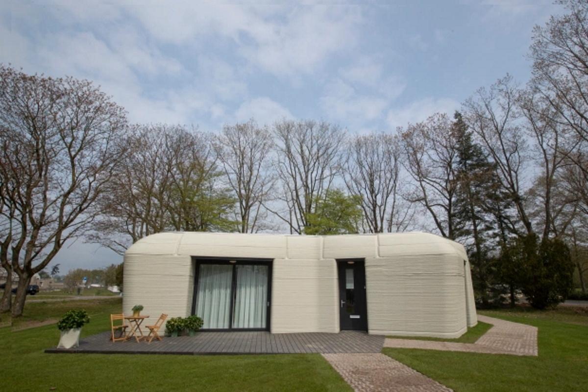 اولین خانه چاپ شده در اروپا که در ۵ روز ساخته شد