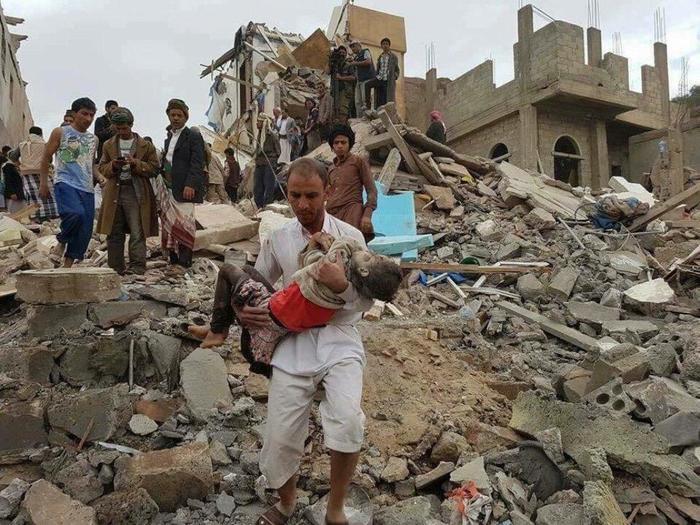 حدیث بی پایان جنایات سعودی در یمن با حمله به صعده