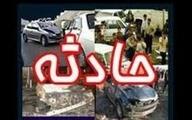 تصادف زنجیره ای در محور تهران - شمال