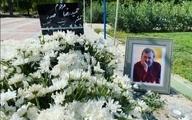 پیکر حمیدرضا صدر در شهر محبوبش به خاک سپرده شد