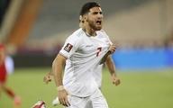 پیروزی ایران مقابل عراق در نیمه نخست