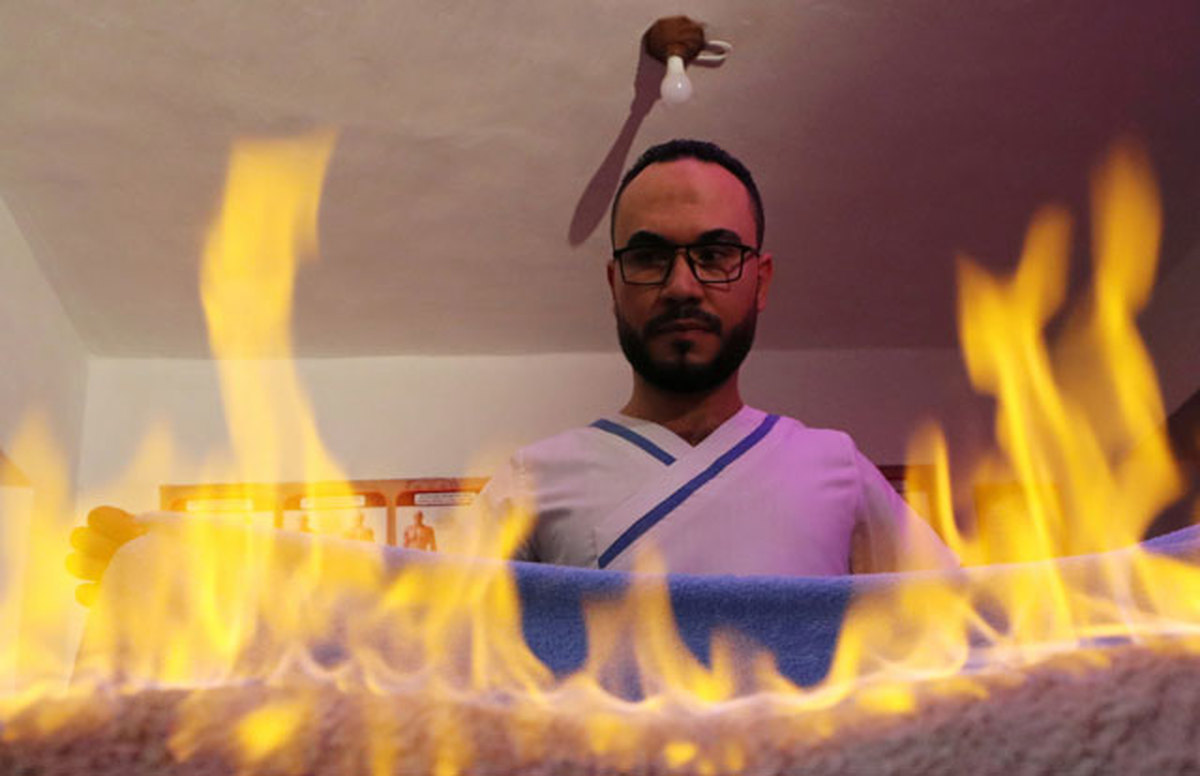 ویدئو : ماساژ داغ مصری!