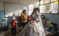 جشن ازدواج زیر آتش جنگ سوریه