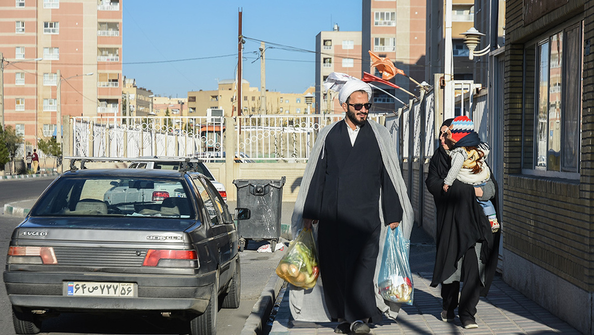 محله زندگی طلاب حوزه علمیه قم