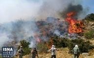 پایان آتش سوزی در جنگل های مازندران