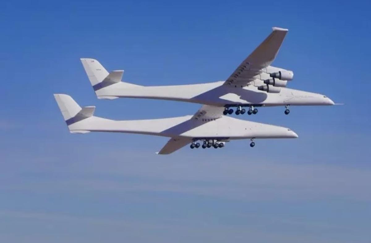 عریض ترین هواپیمای دنیا دومین پرواز آزمایشی را با موفقیت انجام داد