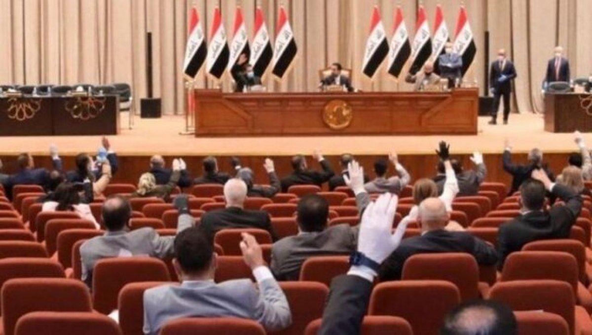 پارلمان عراق  |  اکثریت آرای نمایندگان به تکمیل قانون انتخابات زودهنگام رای دادند