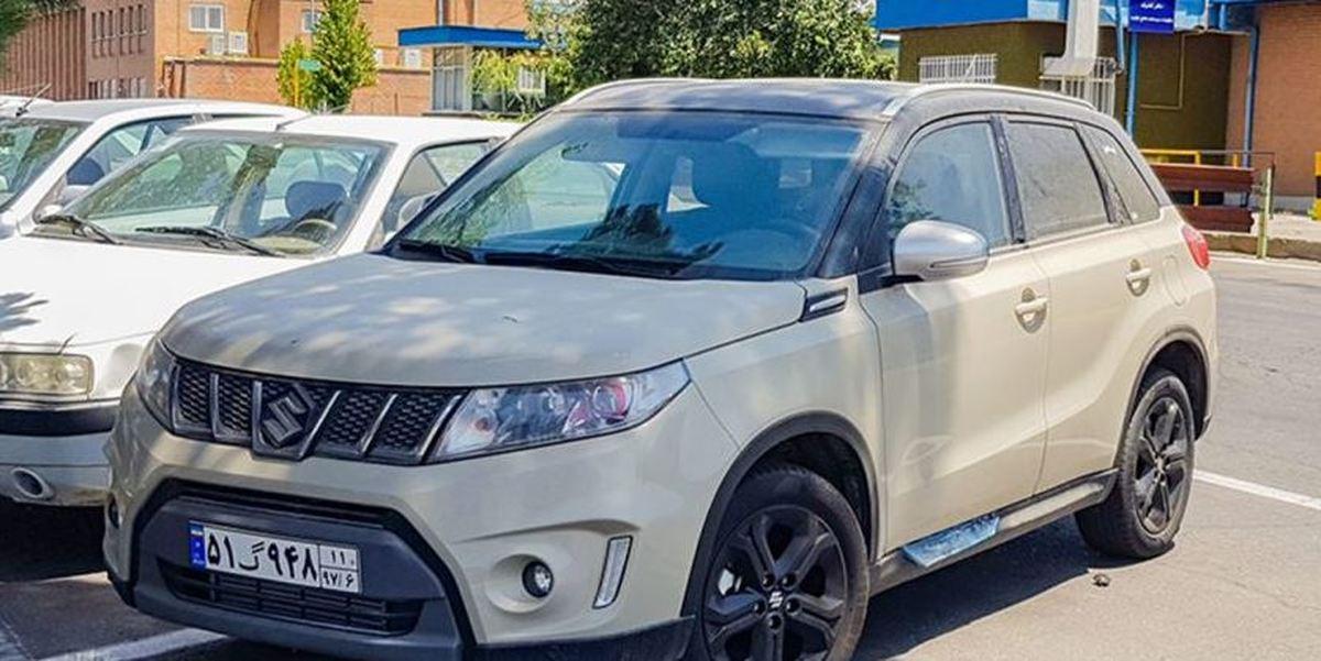 کراس اوور جدید در ایران خودرو+ عکس
