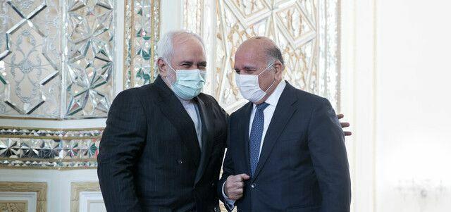 ظریف  |   اتفاقات اخیر در خاک عراق مشکوک است