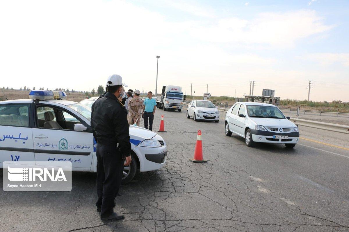 اعمال محدودیت تردد در ورودی مازندران از سمت گیلان