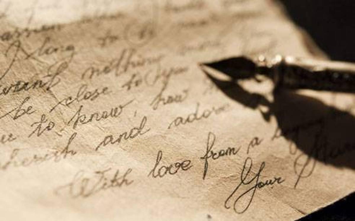 نامههای مهم تاریخ    نامهای که هرگز گشوده نشد
