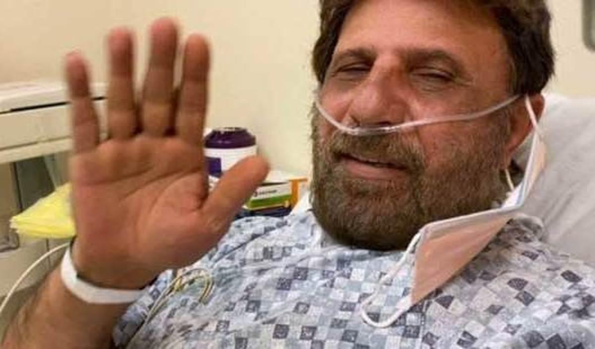 بیژن مرتضوی در بیمارستان آمریکا+عکس  بیژن مرتضوی پس از بهبودی