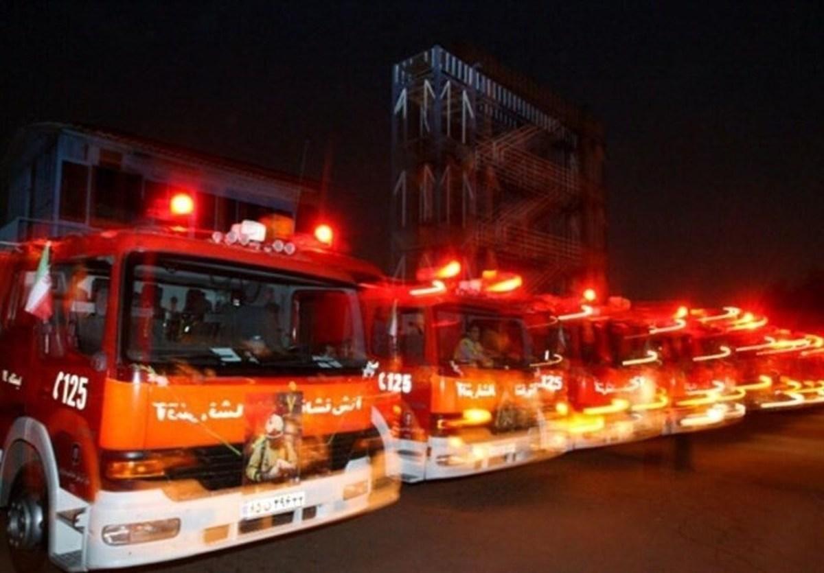 شب چهارشنبه آخر سال ۹۹  |  ۲۲۰ آتشسوزی در تهران