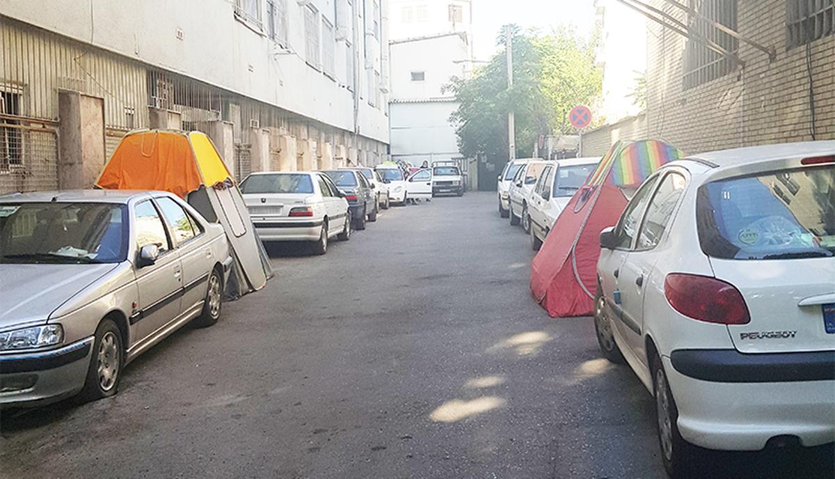 خیابانخوابی همراهان بیمار در تهران!