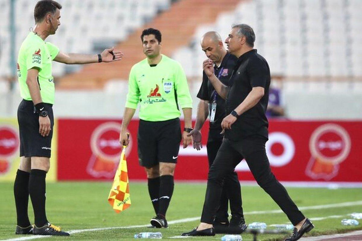 باشگاه نساجی از تیم داوری دیدار با پرسپولیس شکایت میکند