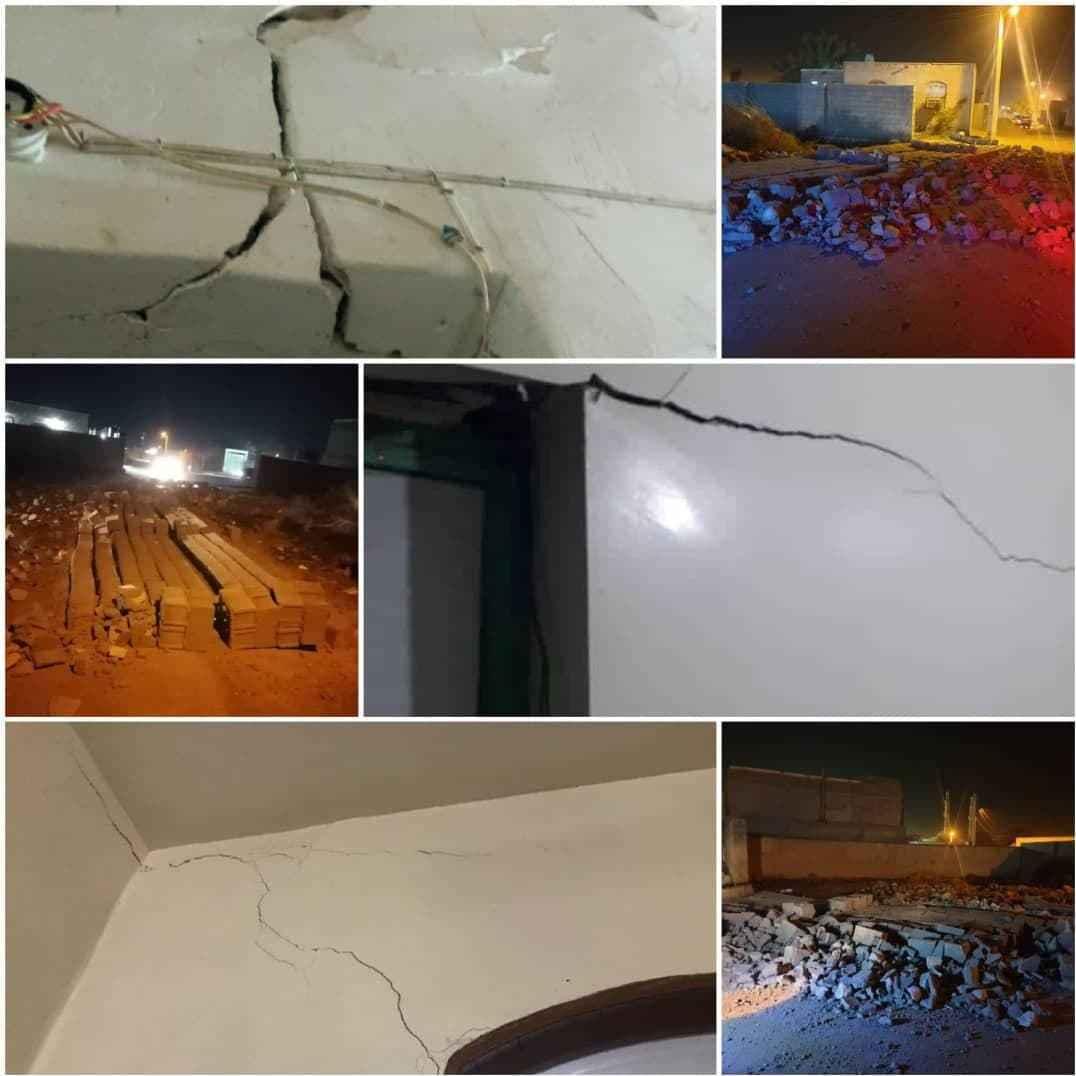 خسارت به حدود ۸۰ واحد روستایی در زلزله ۵.۵ ریشتری بندرلنگه و قشم | استاندار هرمزگان: آب ۱۰ روستای دژگان وارد مدار شد