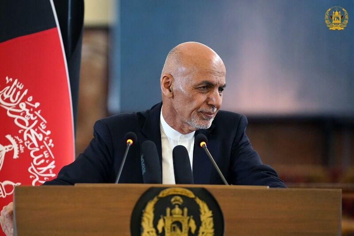 اشرف غنی:اولویت نخست افغانستان ، در سال 1400 مدیریت آب است
