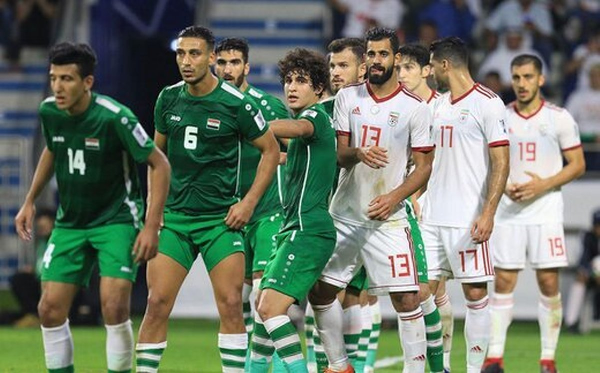 جنگ ایران و عراق برای صدرنشینی و صعود در گروه C   خاکریز در زمین فوتبال