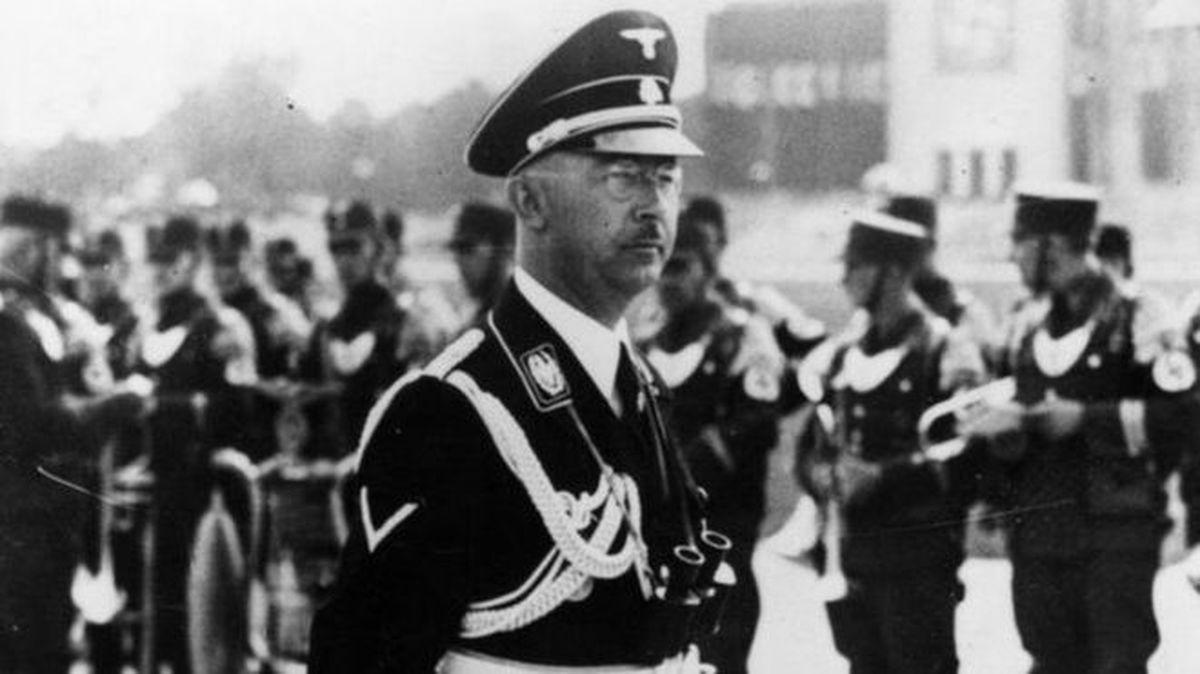 فاش شدن  راز دستگیری هاینریش هیملر