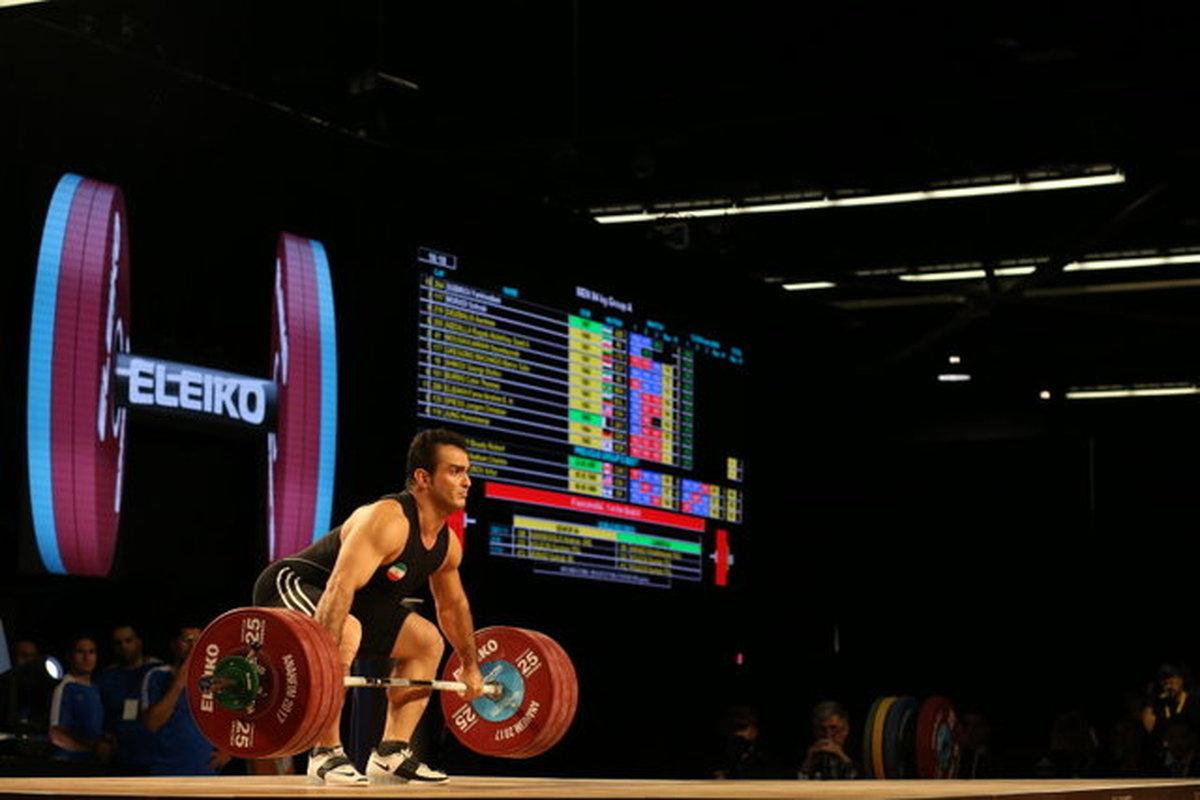 وزنهبرداری قهرمانی آسیا  |  مرادی در یک ضرب مدال برنز گرفت