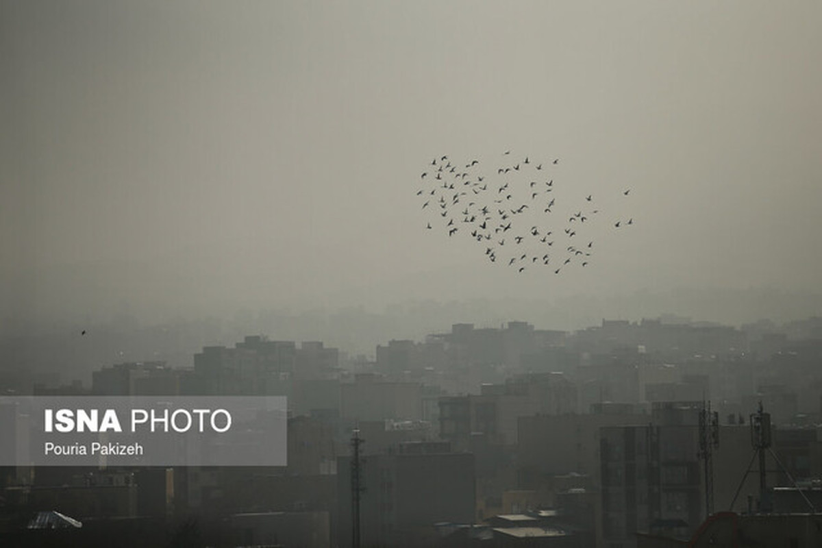 احتمال مرگ ناشی از کرونا در صورت مواجهه طولانی مدت با آلاینده های هوا