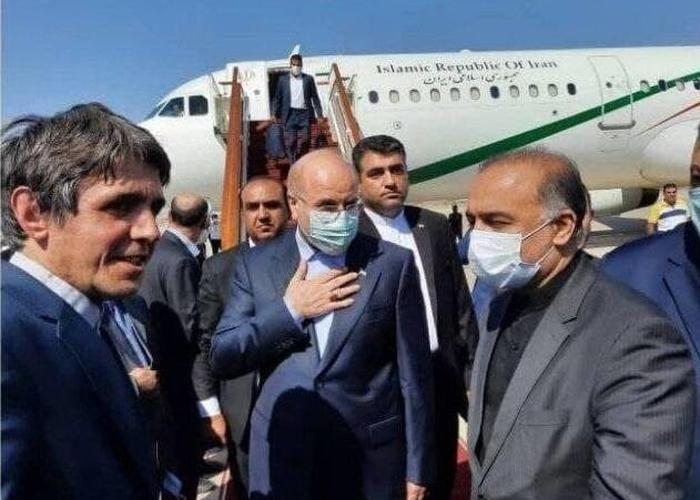 قالیباف وارد سوریه شد