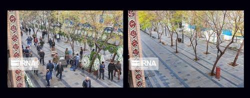 کرونا تهران را تغییرداد + عکس