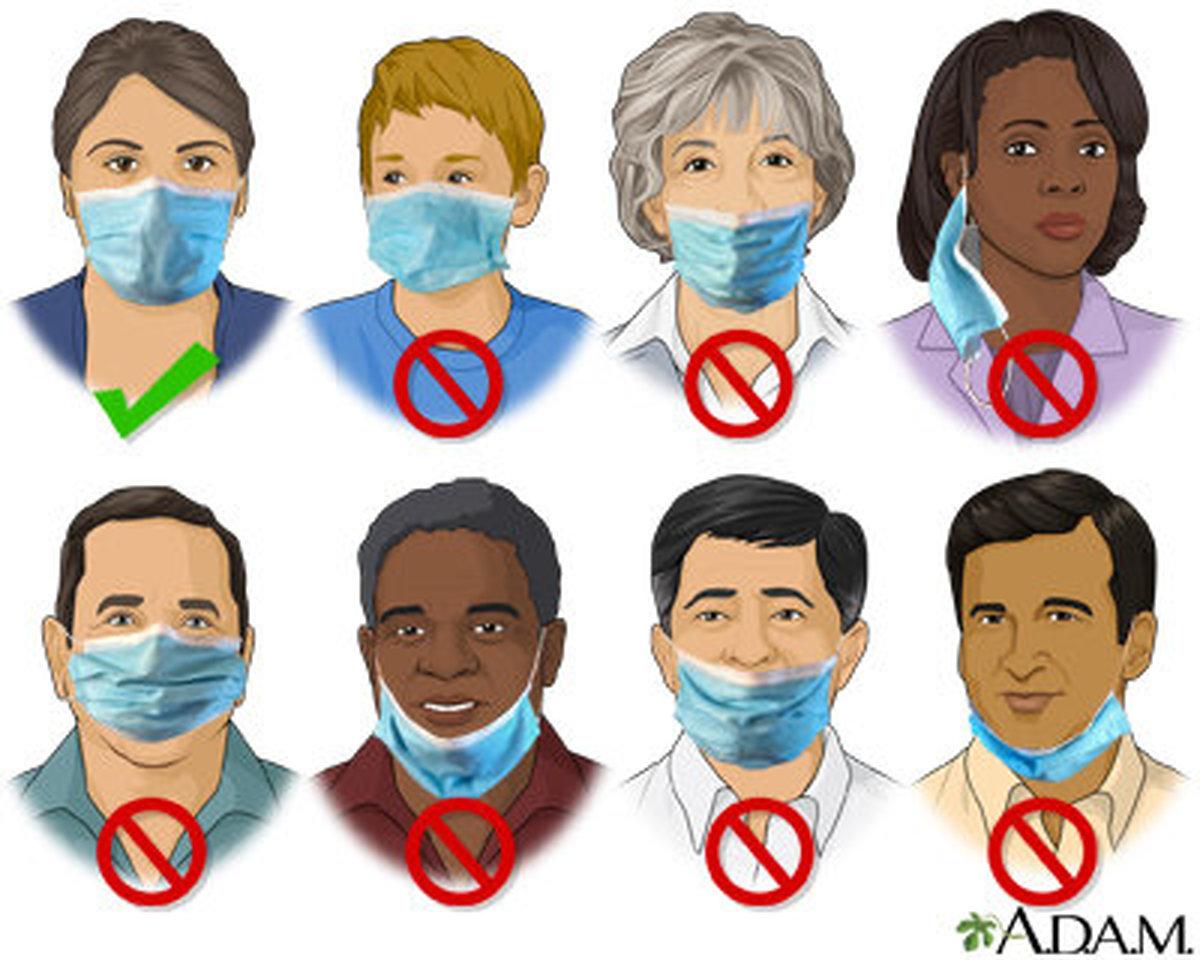 اشتباهاتی که ماسک را آسیبپذیر میکند