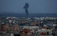 اسرائیل بار دیگر نوار غزه را هدف قرار داد