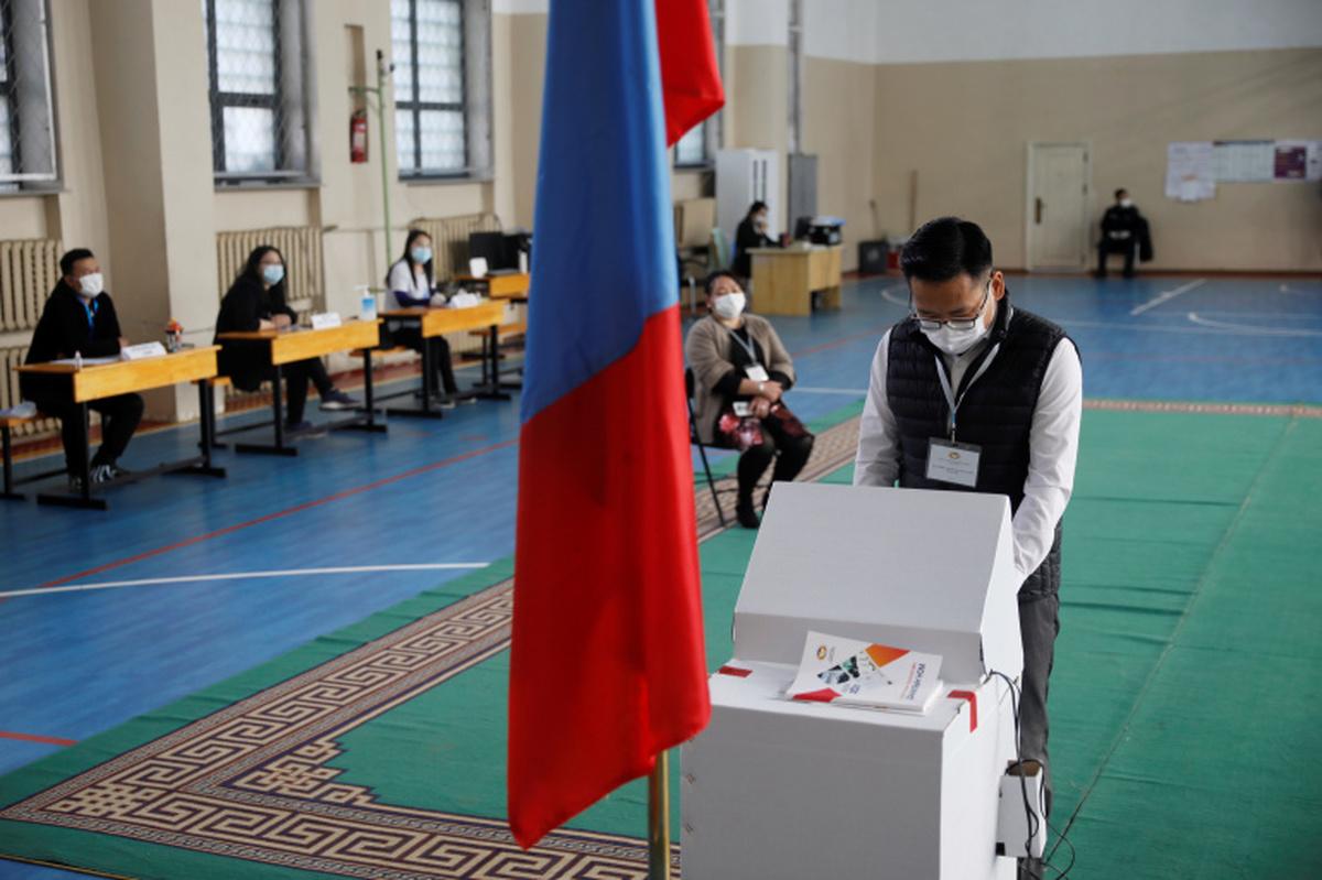 انتخابات ریاست جمهوری مغولستان