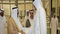 رایزنی تلفنی امیر قطر با ولیعهد کویت