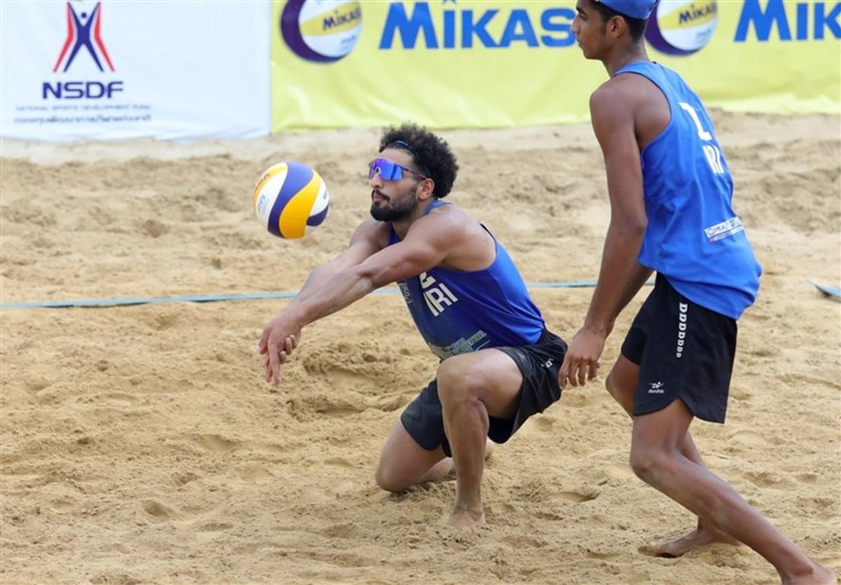 قهرمانی تیم والیبال ساحلی «الف» ایران در آسیا
