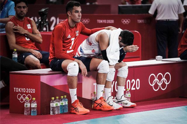 والیبال آمریکا به یکچهارم نهایی المپیک نرسید