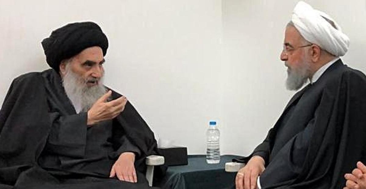 روحانی: نقش مرجعیت آیت الله سیستانی در ثبات و امنیت عراق بی بدیل است