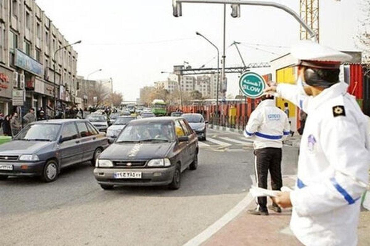 پلیس اتوبان قزوین رشت را مسدود می کند