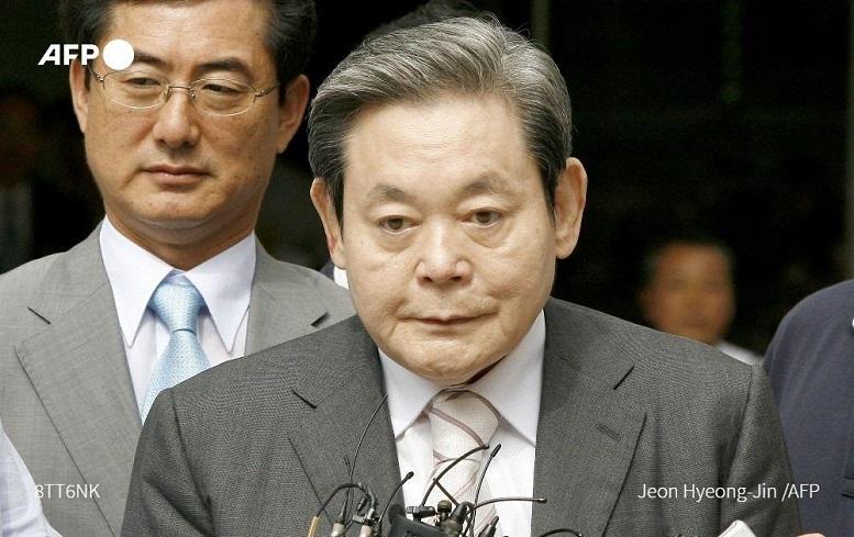 لی کان هی  |  درگذشت رئیس کارخانه سامسونگ