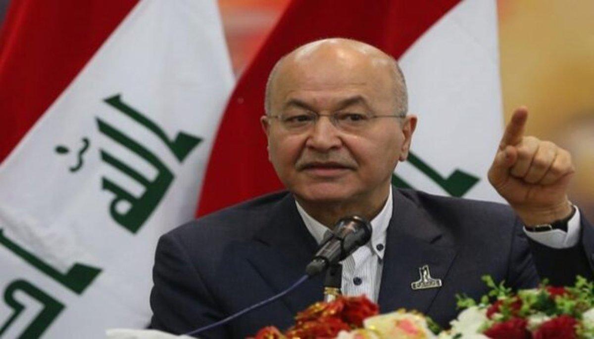 رییس جمهور عراق، راهی ایران شد