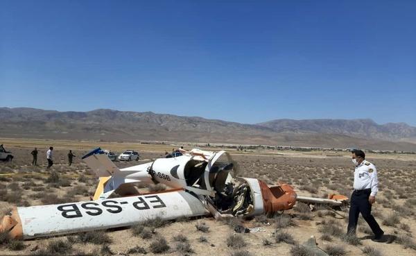 سقوط  مرگبار هواپیمای سبک در گرمه