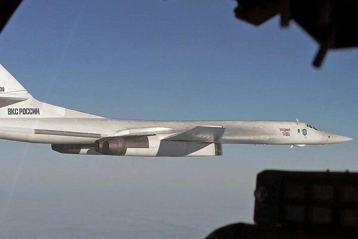 تعقیب بمب افکنهای روسی توسط جنگنده های اروپایی در دریای بالتیک