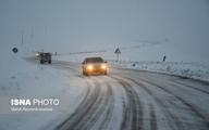 بارش شدید برف در ارتفاعات خوزستان