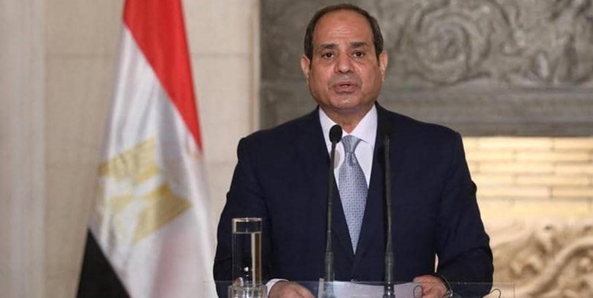 رئیس جمهور مصر پایان بحران کانال سوئز را اعلام کرد