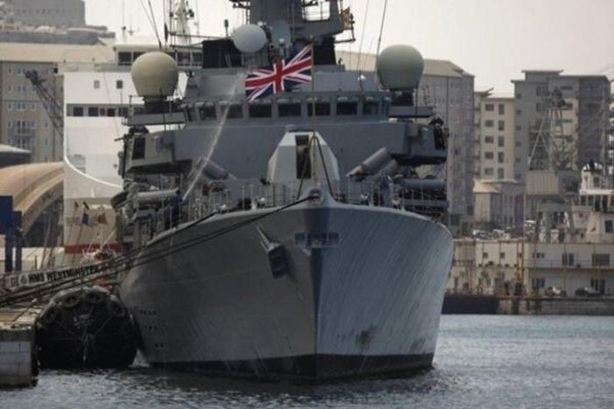 ورود کشتی جنگی انگلیسی به دریای سیاه