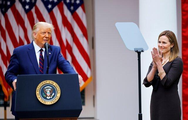 دونالد ترامپ قاضی برت را نامزد عضویت در دیوان عالی کرد