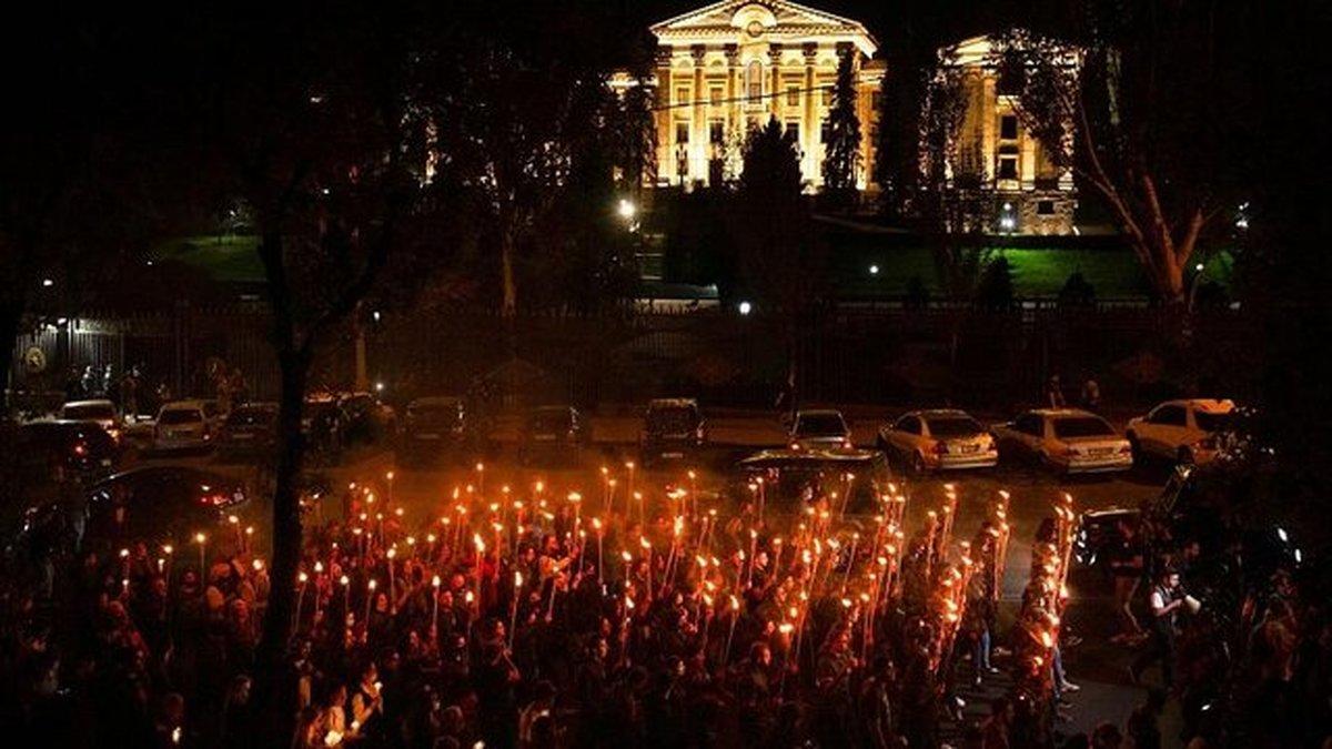صد و ششمین سالگرد کشتار ارامنه در پایتخت ارمنستان