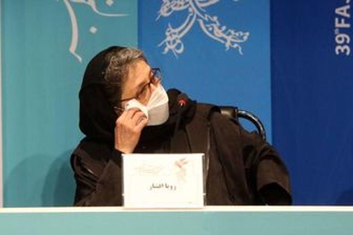 خانم بازیگری که مسعود فراستی را پای یک فیلم نگه داشت!