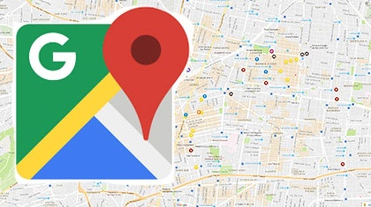 بهروزرسانی جدید گوگل مپ میزان   نمایش گر محلههای شلوغ
